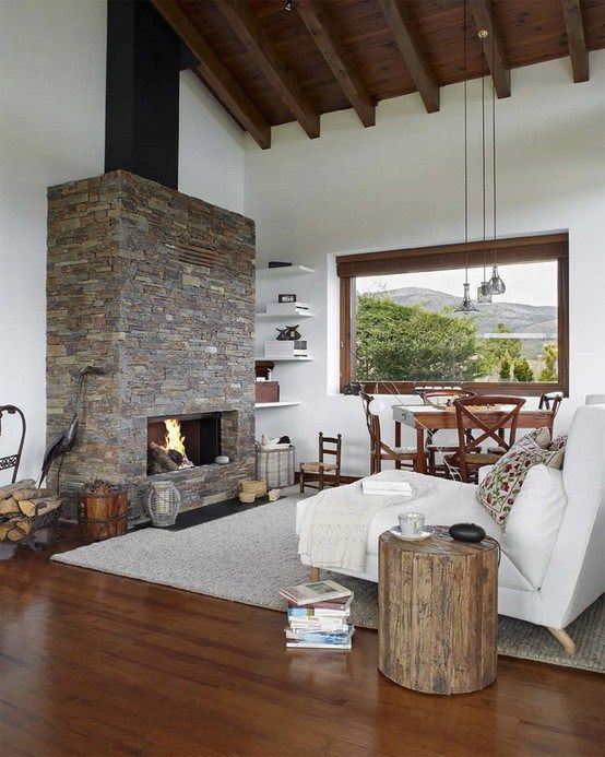 Interiores de casas estilo finca