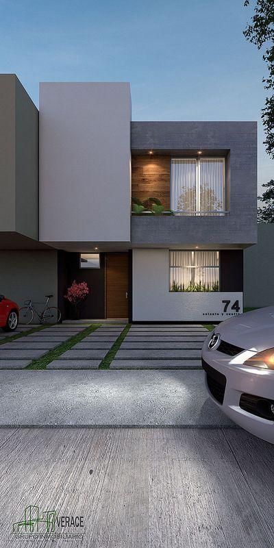Las mejores fachadas de casas de cemento