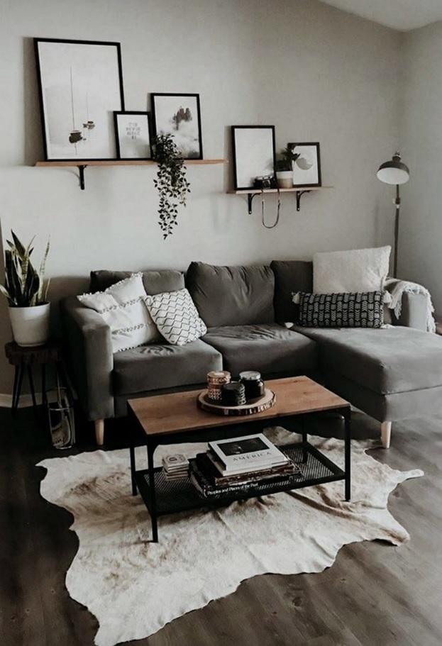 Colocar todo lo que te gusta en la sala de estar