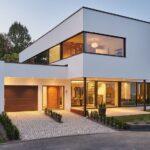 Opciones de casas de concreto de dos pisos