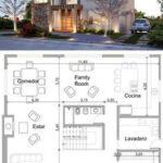 Planos de casas con doble altura