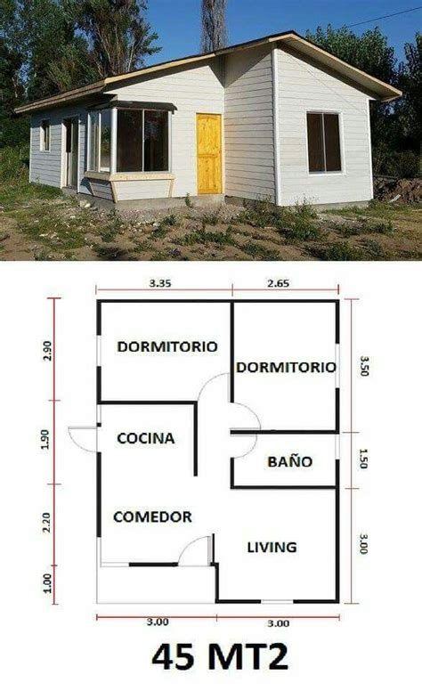 Planos de casas pequeñas y sencillas