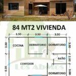 Planos de casas pequeñas con medidas