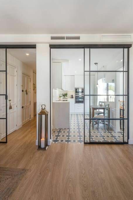 Espacios abiertos en la cocina