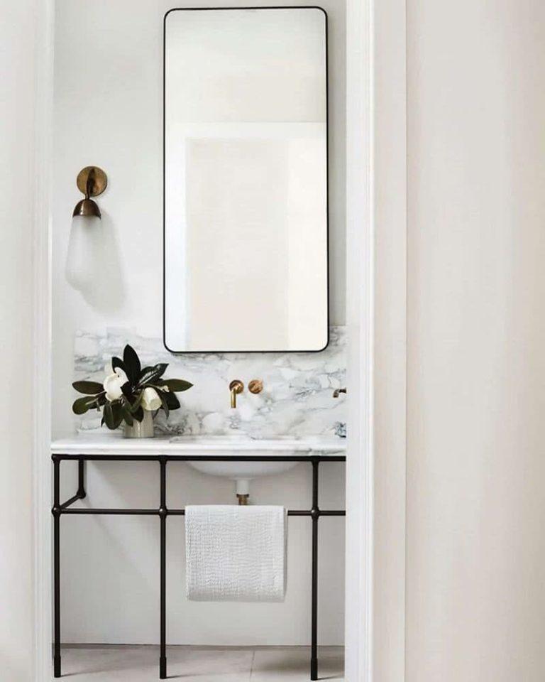 Accesorios decorativos para baños modernos