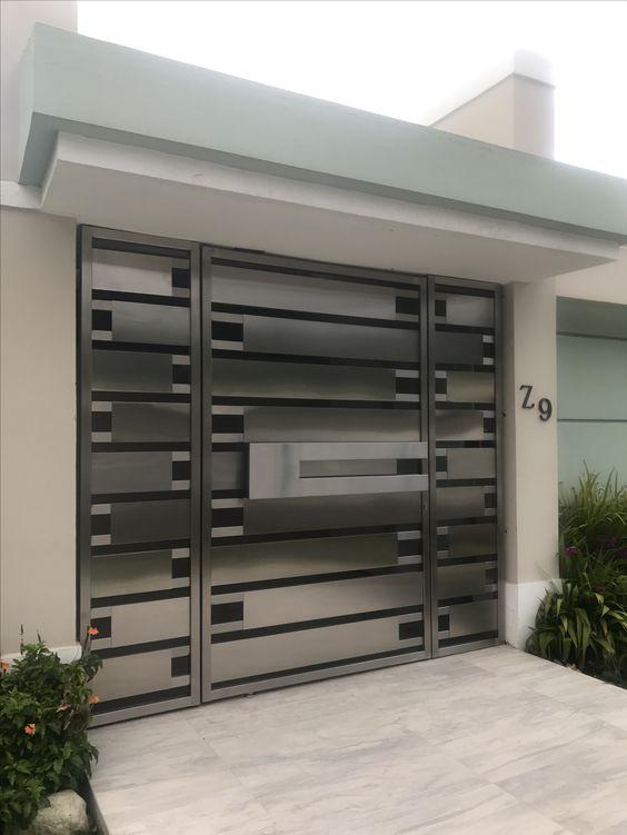 Ideas de portones de aluminio corredizos