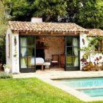 Casas de campo con techo a dos aguas