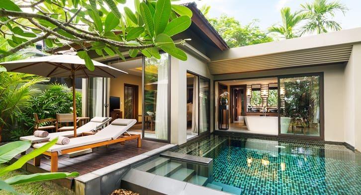 Casas de campo estilo resort