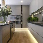 Iluminación para una cocina moderna
