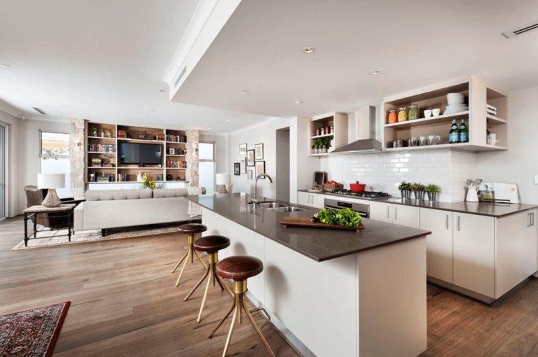 Cocinas en espacios abiertos