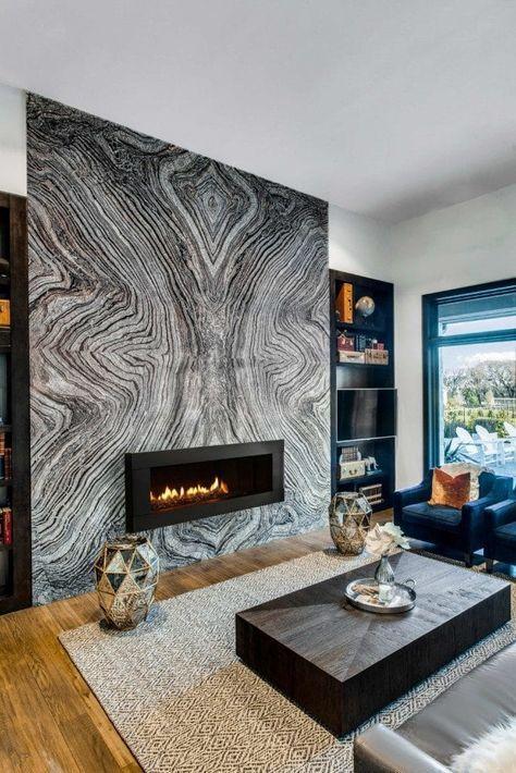 Como diseñar un muro principal con mármol