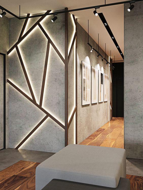Como diseñar un muro principal moderno y elegante