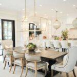 Añade elementos de cristal a la decoración de tu cocina