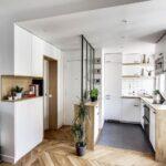 Separa los espacios con estanterías