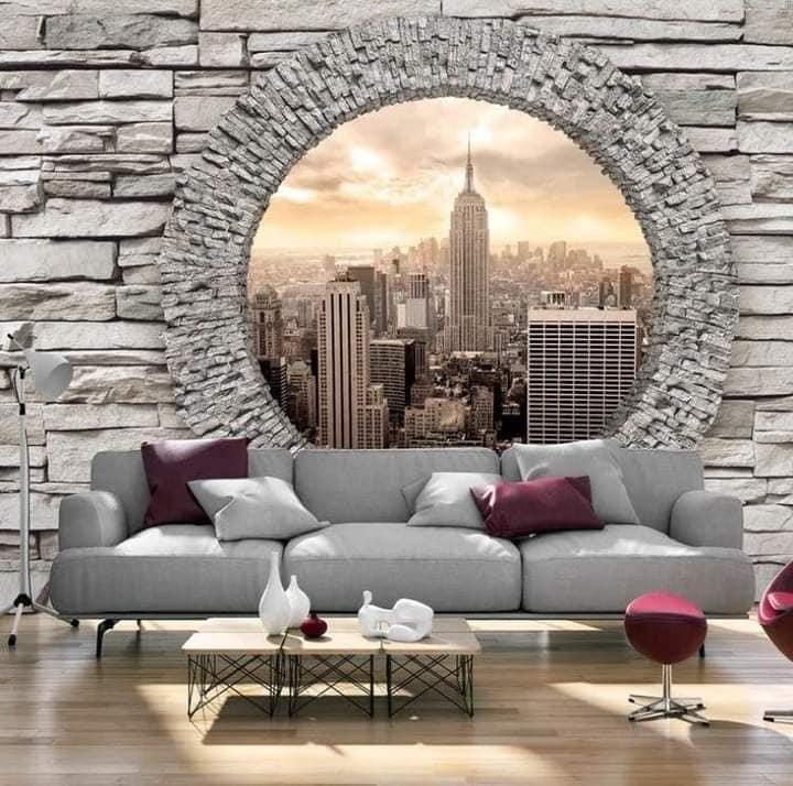 Habitaciones decoradas con piedra
