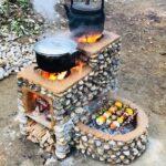 Diseños de estufas de leña modernas