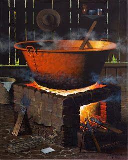 Estufas de leña antiguas