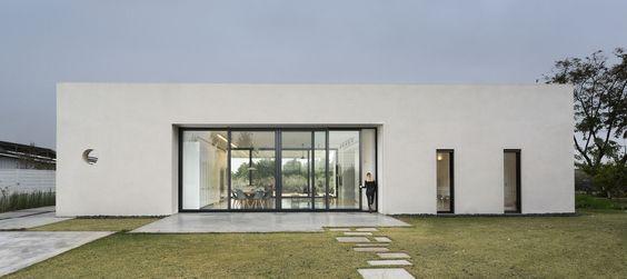 Ideas de fachadas de casas cuadradas pequeñas