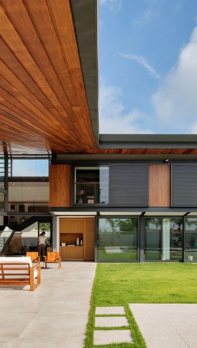 Ideas de casas cuadradas de madera