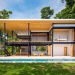 Fachadas de casas ecológicas