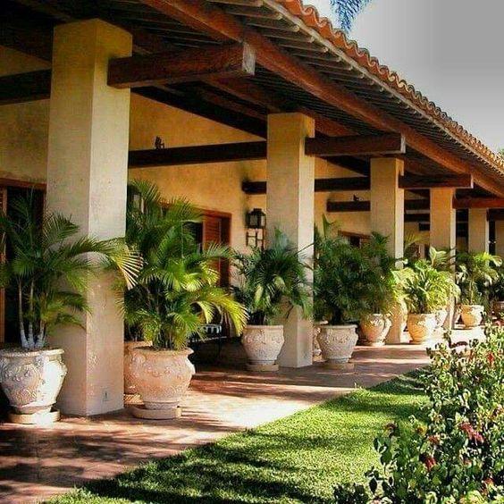 Casas de campo estilo colonial