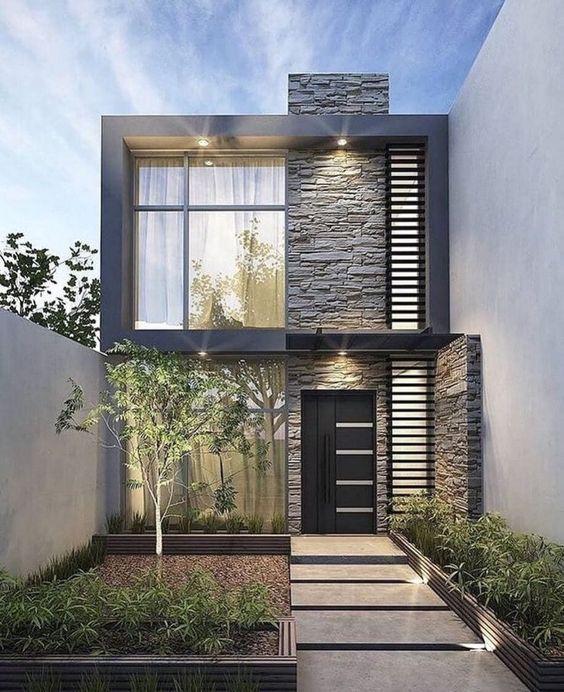 Diseños de fachadas frontales de casas pequeñas