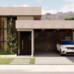 Fachadas de casas frontales