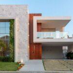 Fachadas frontales de casas modernas