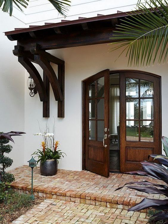 Fachadas de casas rusticas sencillas