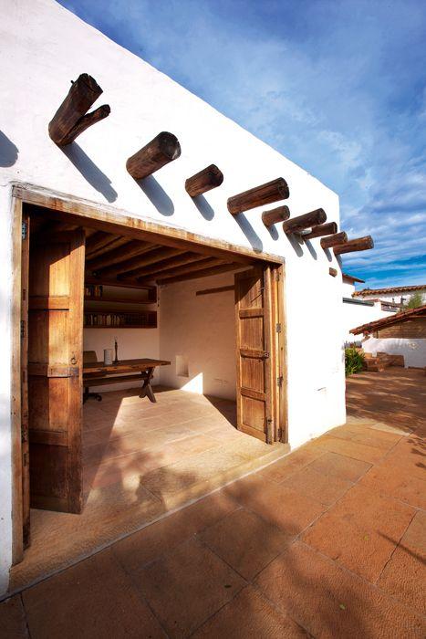 Diseños de casas de adobe sencillas