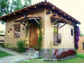 Diseños de planos de casas de adobe y madera