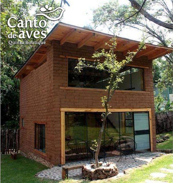Planos de casas de adobe de dos pisos