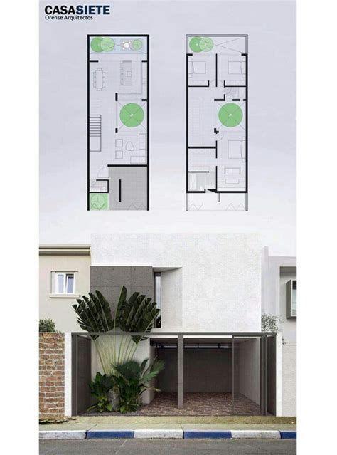 Planos de casas minimalistas de dos plantas