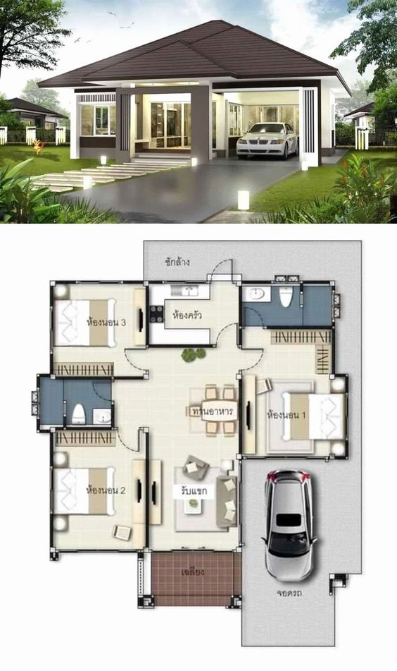 Casas modernas 2021 con planos