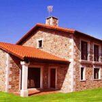Diferentes planos de casas de campo rústicas