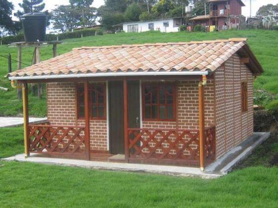 Casas rústicas de ladrillo