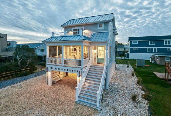 Casa de playa pequeña
